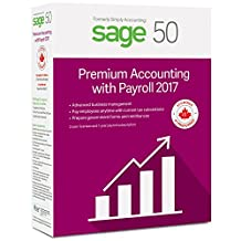 Sage 50 Premium Accounting 2017 with Payroll Services (2-User)