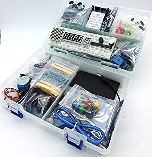 jdhlabstech MEGA 2560 Starter Kit Ultra (100% Arduino IDE Compatible) w/battery