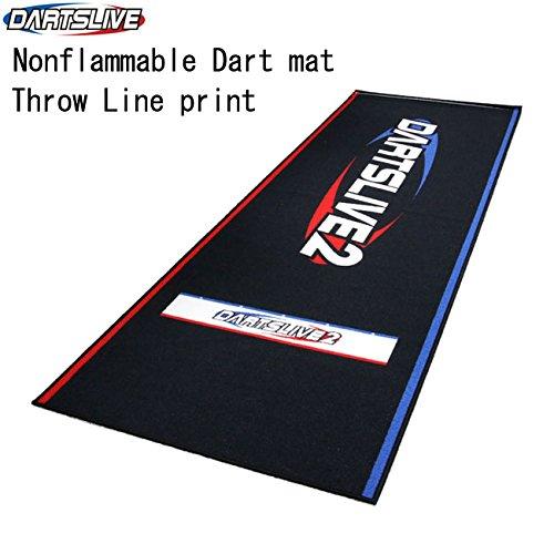 (Nonflammable Carpet floor dart mat)