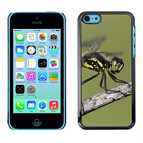Premio Sottile Slim Cassa Custodia Case Cover Shell // F00024216 Sympetrum libellule // Apple iPhone 5C
