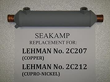 Ford Lehman 2C207 Oil Cooler replacement by Seakamp Engineering