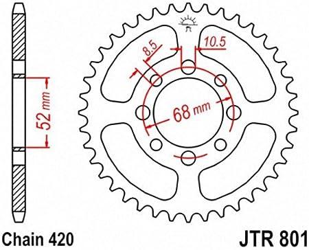 JT Sprockets JTR801.39 39T Steel Rear Sprocket