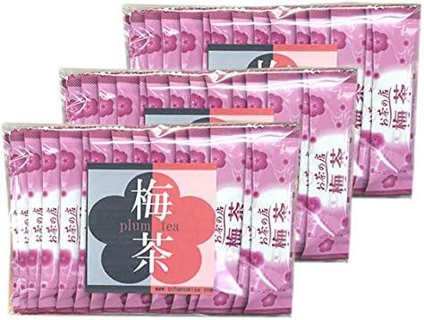 レッツお茶の店 梅茶 (粉末顆粒スティック20P×3袋)60杯分