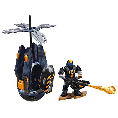 Mega Construx Halo Flood Hunter Drop Pod: Toys & Games [5Bkhe0501598]