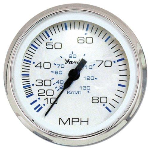 Faria Speedometer - Faria 33819 Chesapeake 80 MPH Speedometer