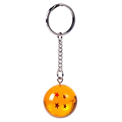 (4S) LLavero 3D Dragon Ball Z (4 Estrellas) - Bola de Dragón Z