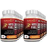 MuscleXP Vito Fuel Men Vital For Men's Performance - 90 Veg Caps (Pack Of 10)