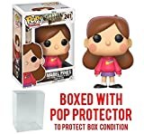 Funko Pop! Animation: Gravity Falls - Mabel Pines Vinyl Figure (Bundled with Pop BOX PROTECTOR CASE)