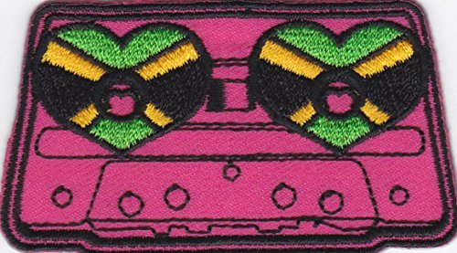 iron-on-patch-embroidered-patches-application-music-cassette-tape-recorder-with-hearts-retro-classic