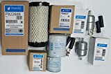 Kubota BX25, BX25D Tractor w/D902-E3 Eng. Maintenance Filter Kit (Donaldson)