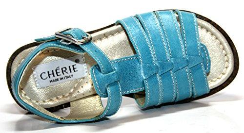 Cherie de 266/bleu, sandales pour fille taille 25 (sans emballage)