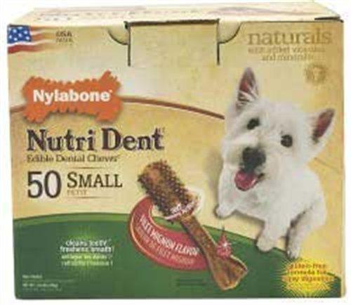 Nylabone Nutri Dent Filet Mignon, 50-Count Pantry Pack