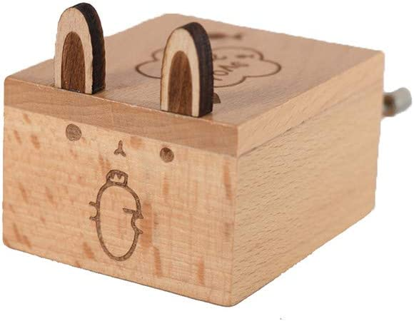 Cadeau de Noel TriLance Bo/îte /à Musique en Bois Manivelle Belle S/élection de Cadeaux Amis Cadeau danniversaire Bo/îte Musicale Antique Cadeau pour Les Enfants