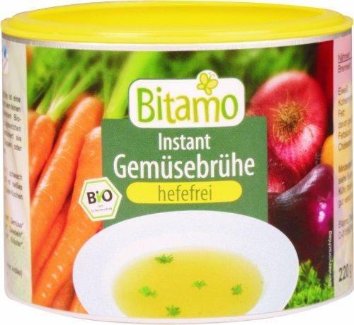 Bitamo Bio vegan Gemüsebrühe, hefefrei, gekörnt, 200 g, 3er Pack (3 x 200 g)