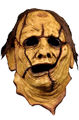 Trick Or Treat Studios Adult Texas Chainsaw Massacre Leatherface 3/4 Mask Standard]()