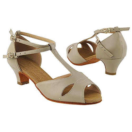 Gold Pigeon Shoes 50 Shades Of Low Heel Dance Shoes Dance Dress Shoes Collection (Vegan Available): Women Ballroom, Latin, Tango, Salsa, Swing, Practice, Theather Art by 50 Shades S2803 Beige (Vegan)