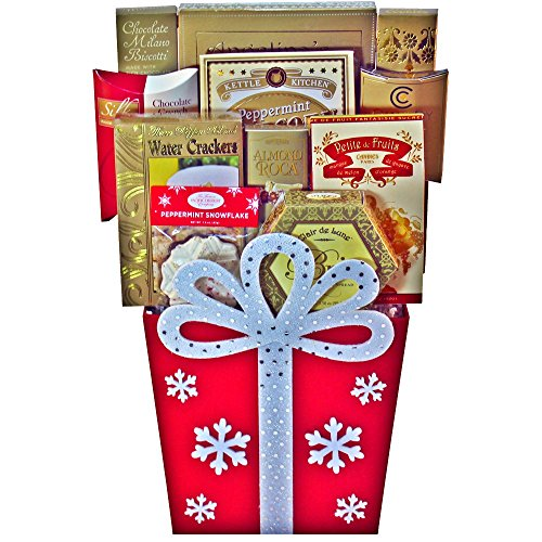 Joy To The Season Christmas Holiday Gift- Red (Christmas Gift Arrangements)