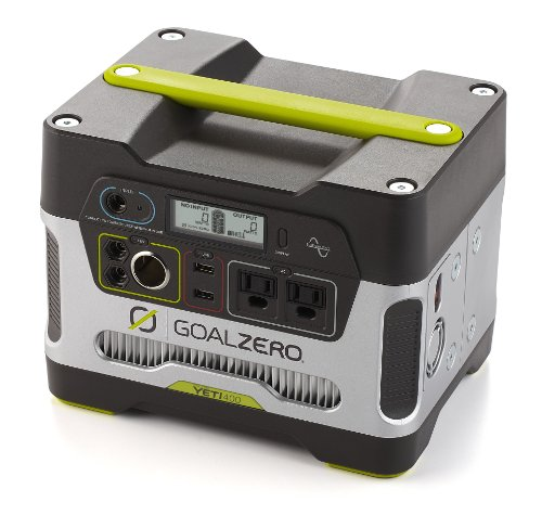 Goal Zero Yeti 400 Portable Power Station, 400Wh Battery Powered Generator Alternative with 12V, AC and USB Outputs by Goal Zero (Image #1)
