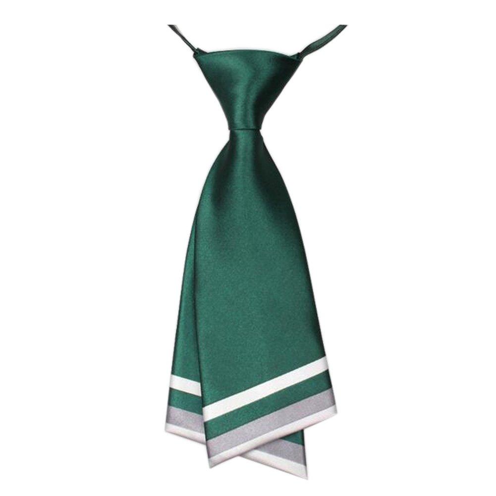 Kylin Express - Corbata de Doble Capa para Mujer, Color Verde ...