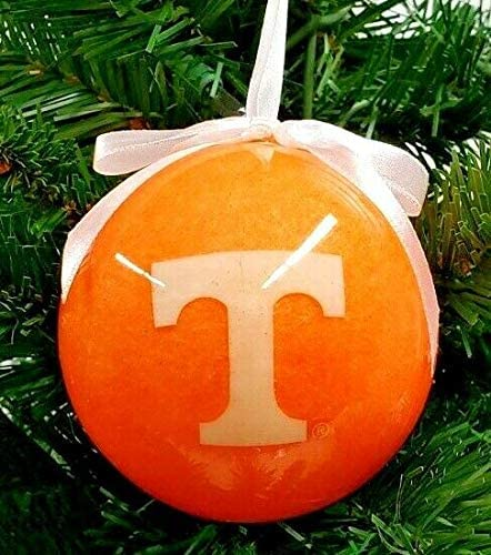 Oxbay Tennessee Volunteers Glitter Ball Christmas Ornament 3