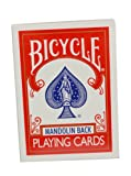 Set of 4 Official Decks Bicycle Poker Playing Cards Red Mandolin