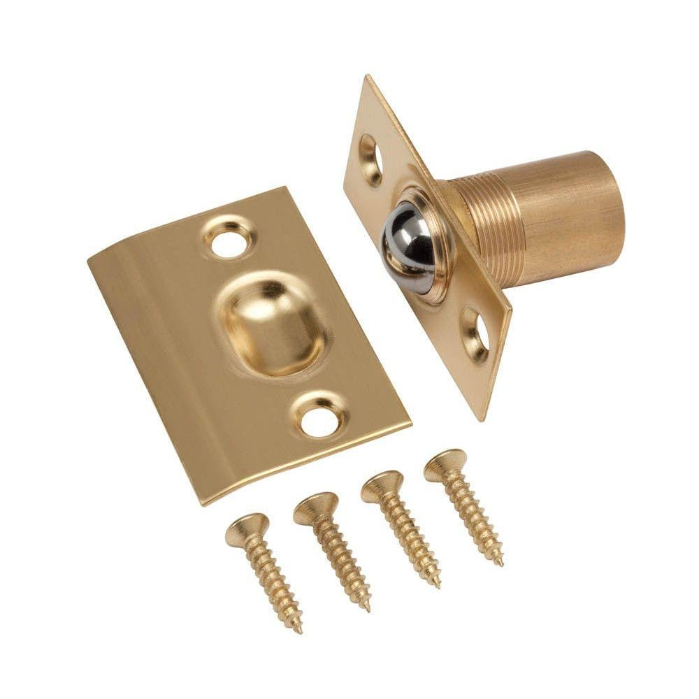 Everbilt Solid Brass Adjustable Ball Catch