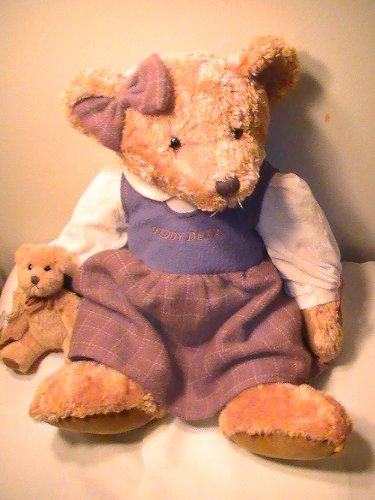 Russ Collection Vintage - Russ Vintage Collection Teddy Bear Lady Leighann