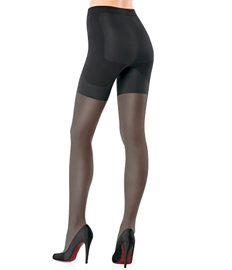 68a87423307 SPANX Women s Sheer Function Booty-Full Sheer Tights at Amazon ...