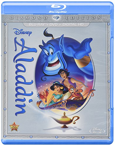 Aladdin: Diamond Edition (Blu-ray/DVD/Digital HD) (Movies Blue Ray Princess Disney)