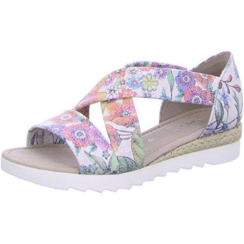 Gabor - Sandalias de vestir para mujer multicolor Estampado De Flores Estampado De Flores