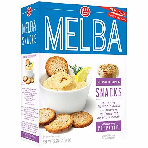 (Old London Melba Snacks, Roasted Garlic 5.25 ounce (1 Count))