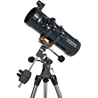 Celestron AstroMaster 114EQ 114mm F/8.7 Reflector Telescope with Tripod