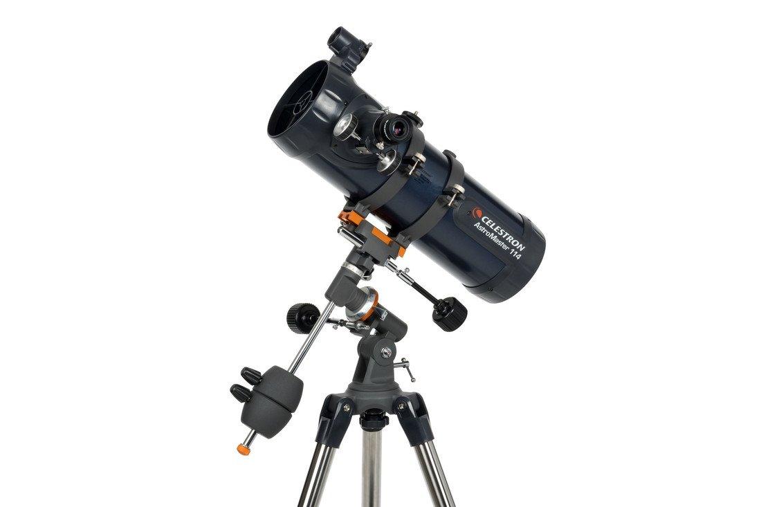 Celestron 31042 AstroMaster 114 EQ Reflector Telescope by Celestron