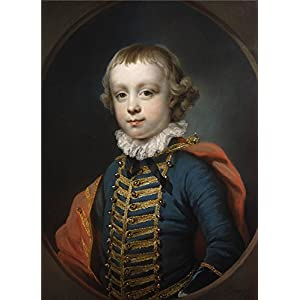Oil Painting 'Francis Cotes - Francis Vernon, 1757', 24 x 33 inch / 61 x 85 cm , on High Definition HD canvas prints is for Gifts And Garage, Home Theater And Study Room Decoration, home
