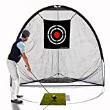 Galileo 8'x7'x7' golf Hitting Net/golf net/Tri-poled shape golf net/Practice Driving Indoor and Outdoor