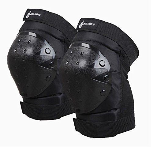 Tech-P Tactical Kneepad Protector Motorcycle Bicycle Cycling Bike Racing Tactical Skate Protective...