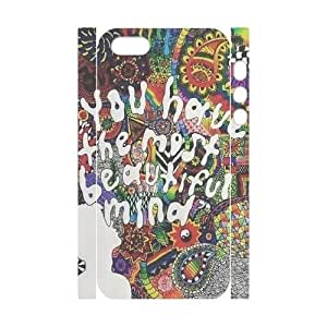 Custom Trippy iPhone 5 3D Cover Case, Trippy Customized 3D Phone Case for iPhone 5,iPhone 5s at Lzzcase BY icecream design