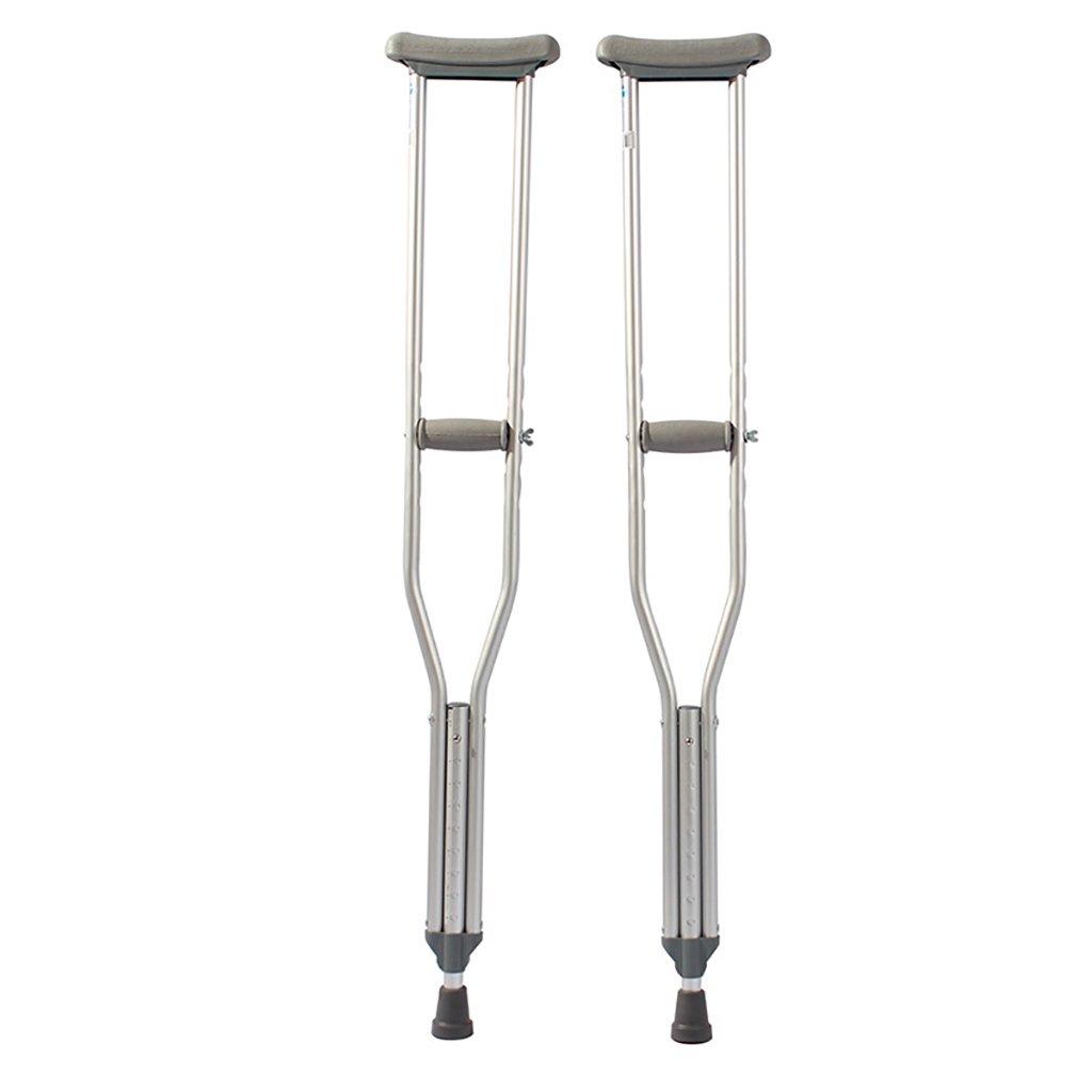 新しい季節 松葉杖/歩行スティック (サイズ/杖/脇の下の松葉杖アルミニウム合金高齢者の松葉杖不能な杖の高さ調節可能なテレスコピックターンAペア (サイズ さいず ミディアム) : ミディアム) ミディアム ミディアム B07L6BMSMR, ベルバカンス:7d85b22a --- a0267596.xsph.ru