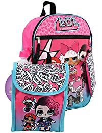"""16"""" Backpack 5pc Set LOL Surprise Standard"""