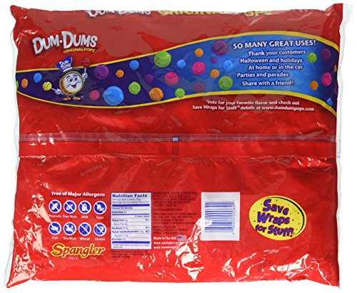 Dum Dum Pops 180 ct bag - assorted flavors by Dum Dums (Image #2)