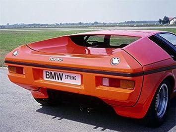 1972 BMW Turbo in Orange Metallic Resin Model in 1:18 Scale by Schuco