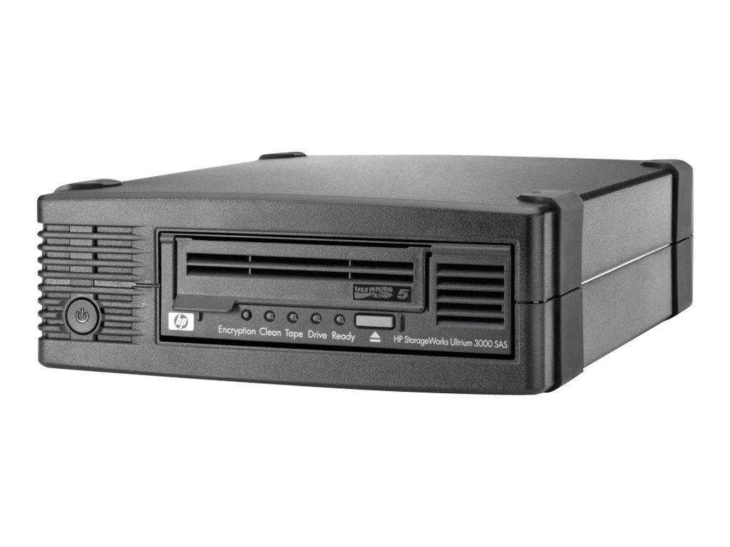 HP LTO-5 Ultrium 3000 SAS External Tape Drive EH958B by HP