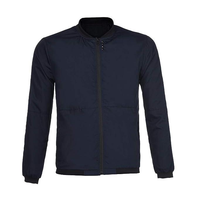 Chaqueta de Hombre de BaZhaHei, Otoño Invierno Jacket Hombres Peacoat Camisetas Hombre Abrigos Hombre Marca
