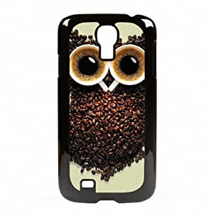 Case Fun Samsung Galaxy S4 (i9500) Vogue Case - Coffee Bean Owl