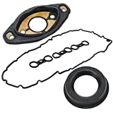 e61 service manual - Bapmic N52 11127552280 Eccentric Shaft Actuator Seal + 11127582245 Valve Cover Gasket for BMW