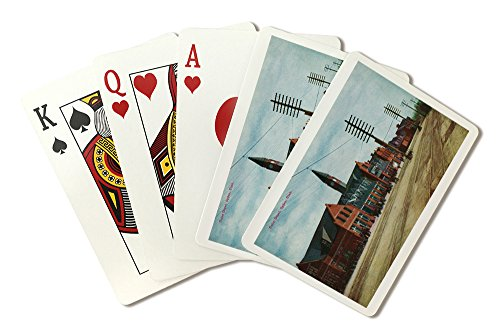 Ogden, Utah - Exterior View of Union Depot (Playing Card Deck - 52 Card Poker Size with Jokers) ()