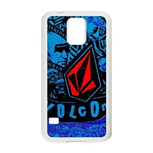 Volcom Logo For Samsung Galaxy S5 White Custom Cell Phone Case Cover 99II928382