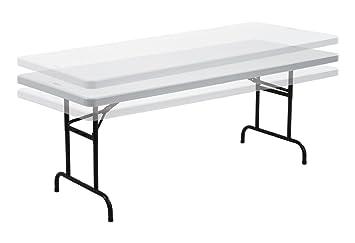 Genial 6 Foot Height Adjustable Folding Trestle Table