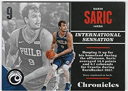 6728fd566d16 Amazon.com  2017-18 Panini Chronicles Basketball  57 Dario Saric ...
