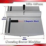 """Manual 18"""" 460mm Scoring Paper Creasing Machine"""